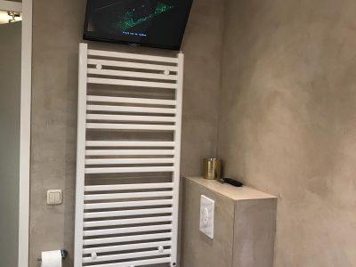 Badkamer en wc te Zwolle in Betron Cire