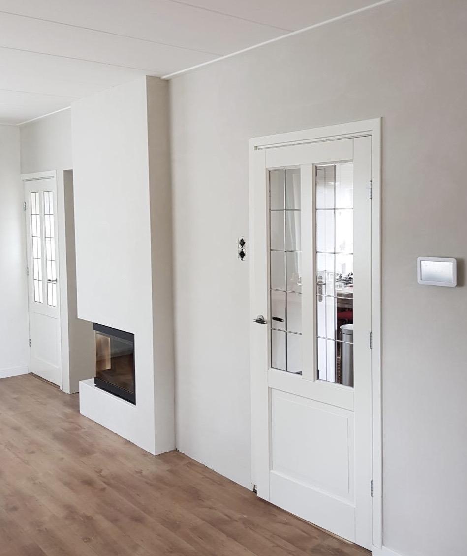 Woning in Heerde voorzien van sausklaar stucwerk