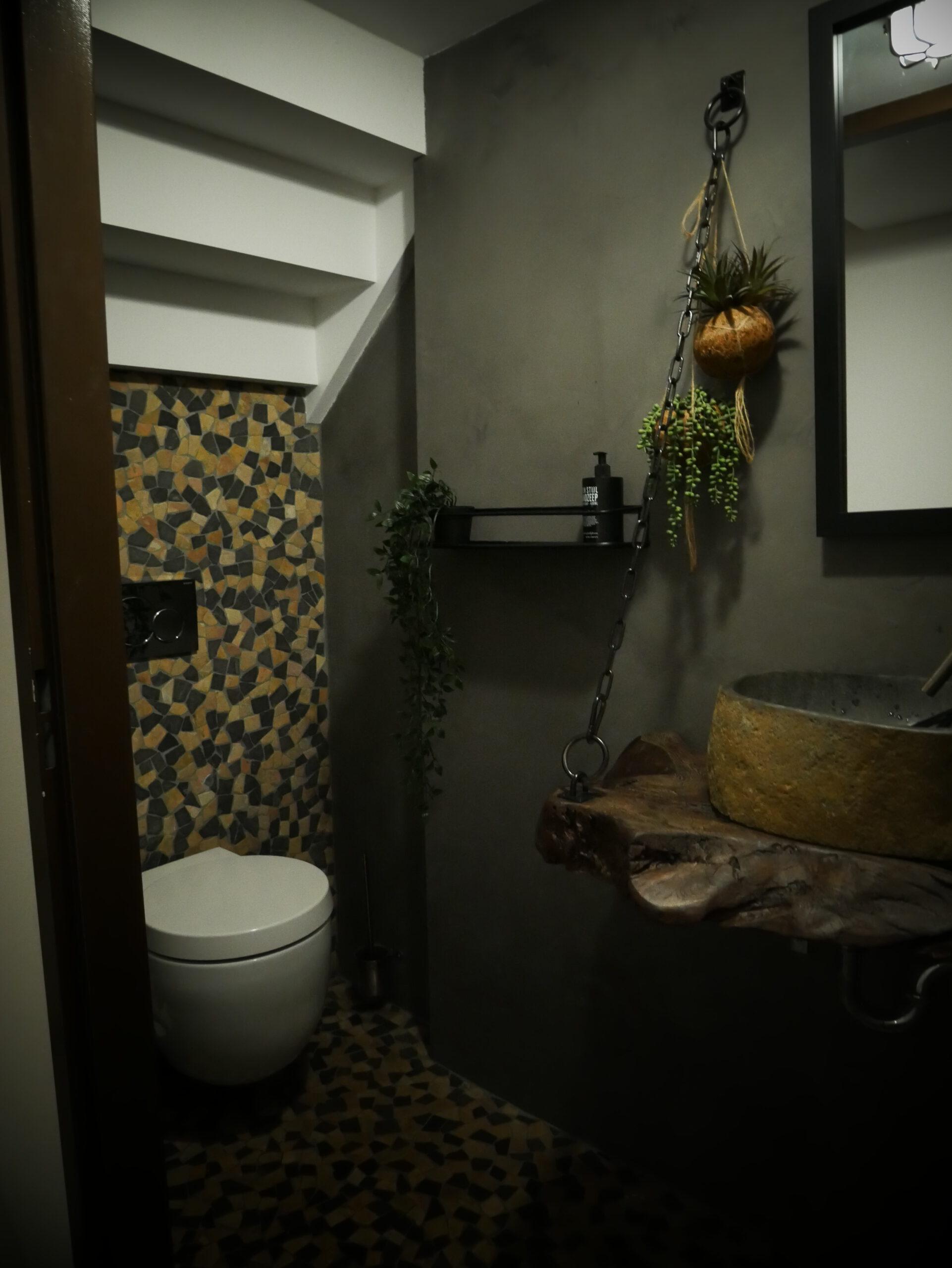 Toilet in Zwolle voorzien van Beal Mortex