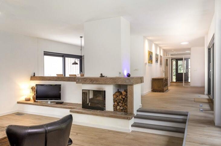 Woning in Epe voorzien van sausklaar stucwerk